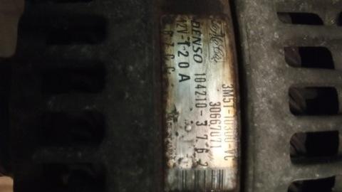 GENERADOR 120A FORD FOCUS MK2 08R 2.0 16V