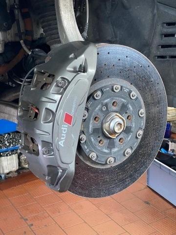 Керамические тормоза Audi SQ7 и производные