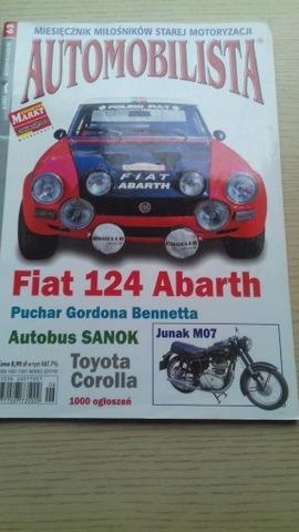 Automobilista  nr 63 - Fiat 124 Abarth  ( 6/2005 )