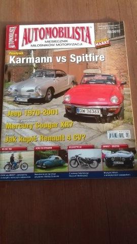 Automobilista nr 118  Pojedynek Karman vs Spitfire