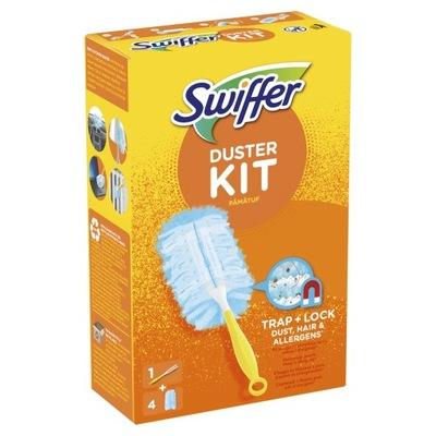 Swiffer Duster miotełka do kurzu rączka + 4 wkłady