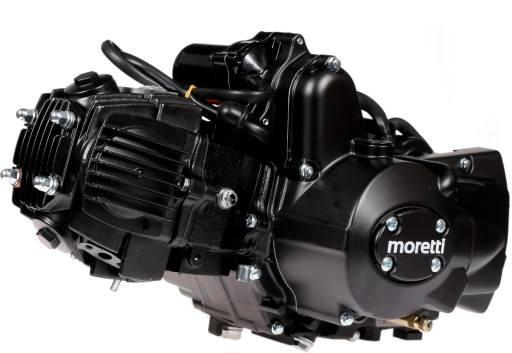 двигатель 110cc moretti 4t junak romet barton zipp, фото