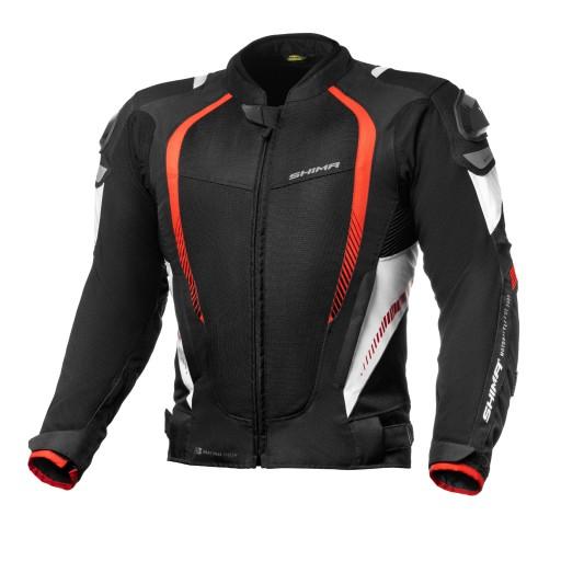 shima mesh pro red куртка мотоциклетная + gratisy, фото