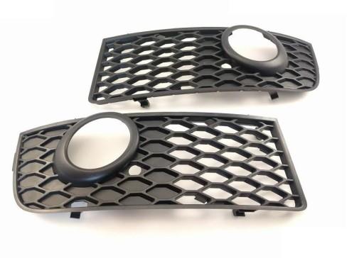 дефлектор бампера audi a4 b6 s line комплект 2szt aso, фото