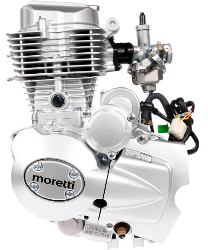 двигатель 175cc moretti 4t junak romet barton zipp, фото