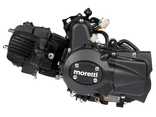 двигатель 125cc moretti 4t автомат junak romet zipp, фото