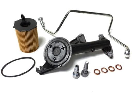 комплект турбіни turbo фільтр масла 1.6 hdi tdci d, фото