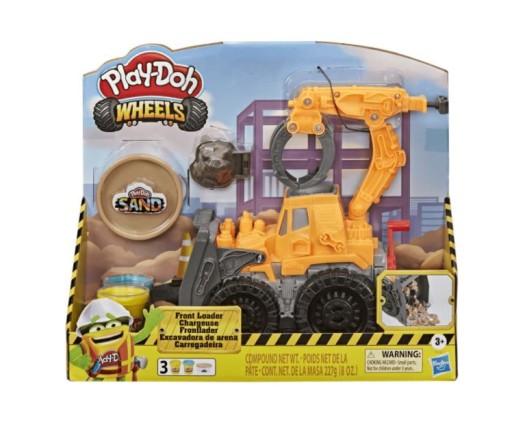 Play-doh ciastolina spychacz koparka E9226