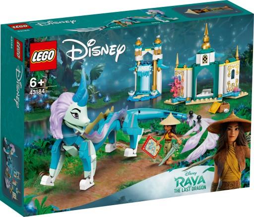 Lego Disney Princess Raya i smok Sisu 43184