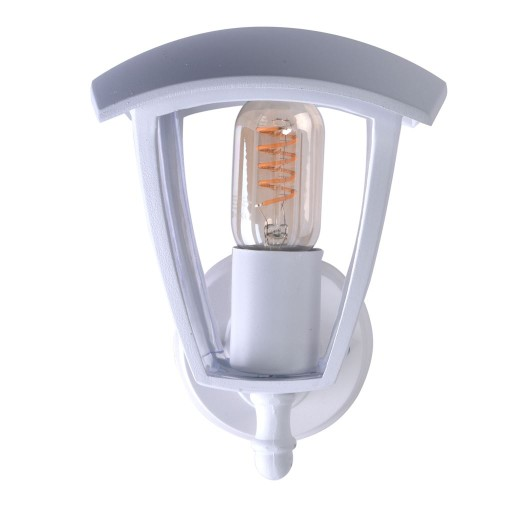 Lampa Kinkiet Ogrodowy Zewnętrzny BIAŁY LED