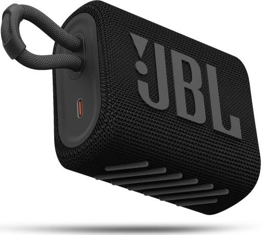 Głośnik przenośny JBL GO 3 czarny