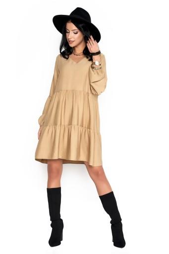 Sukienka Sugarfree oversize beżowa rozmiar M