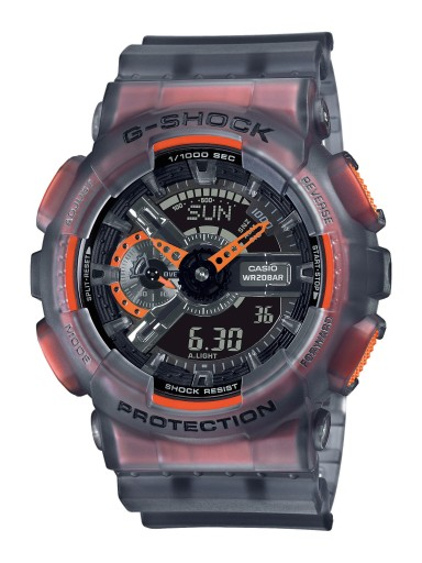 Męski zegarek G-SHOCK CASIO GA-110LS-1AER szary