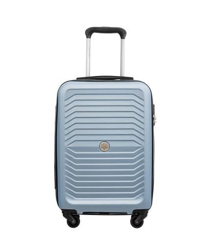 Walizka twarda kabinowa Puccini ABS019C7 niebieska