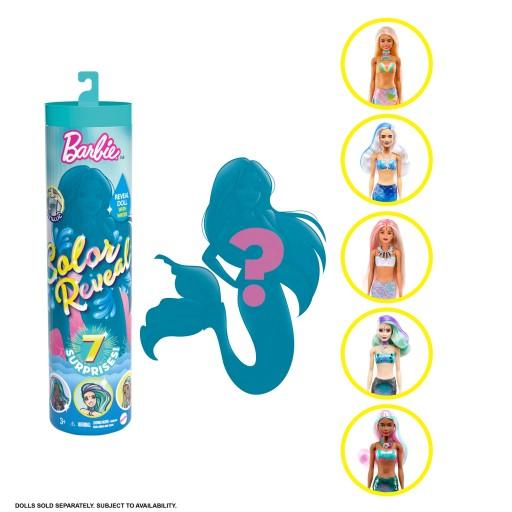 Barbie Color Reveal Lalka niespodzianka GRK05