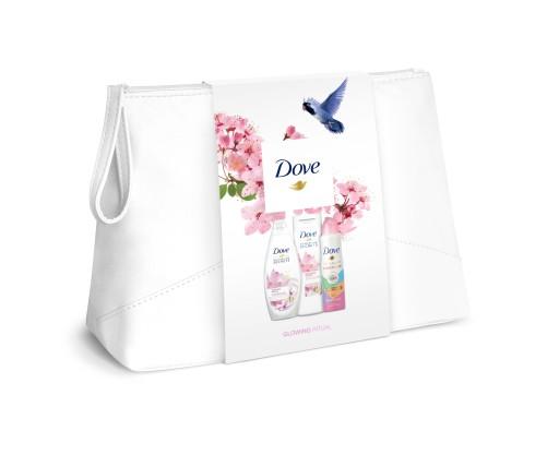Dove kosmetyczka + zestaw prezentowy kosmetyków