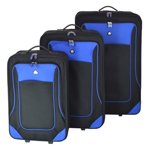 Zestaw walizek podróżnych Semi Line 3 szt. 5437-4