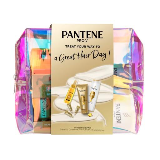 Pantene zestaw z kosmetyczką pielęgnacja włosów