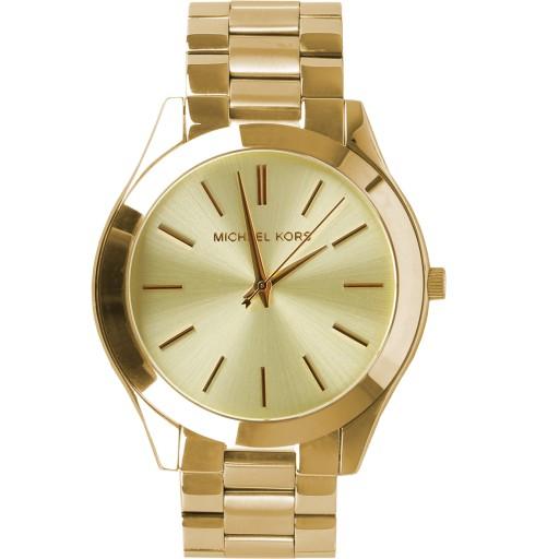 fc61c5e582fdc Złoty zegarek damski Michael Kors MK3179 7881756674 - Allegro.pl