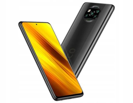 Smartfon Xiaomi Poco X3 6/64GB szary