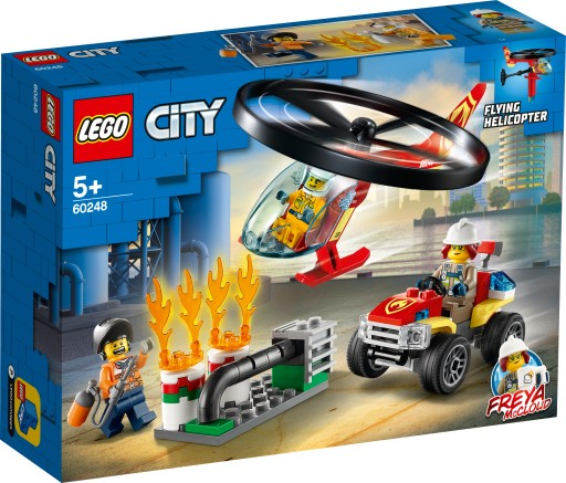 Lego City Helikopter strażacki na ratunek 60248