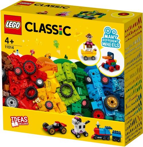 Lego Classic Klocki na kołach 11014 11014