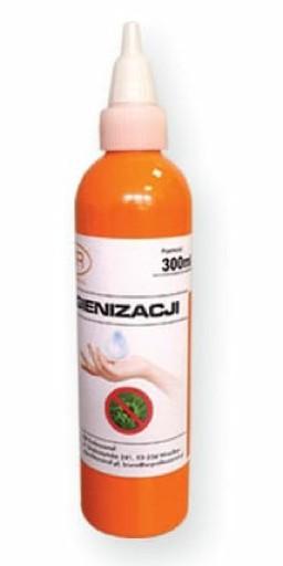 Płyn do rąk antybakteryjny, do dezynfekcji 300 ml
