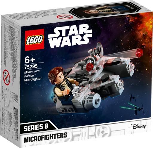 Lego Star Wars Mikromyśliwiec Sokół 75295