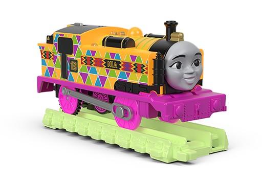Tomek i Przyjaciele Świecąca lokomotywka Nia