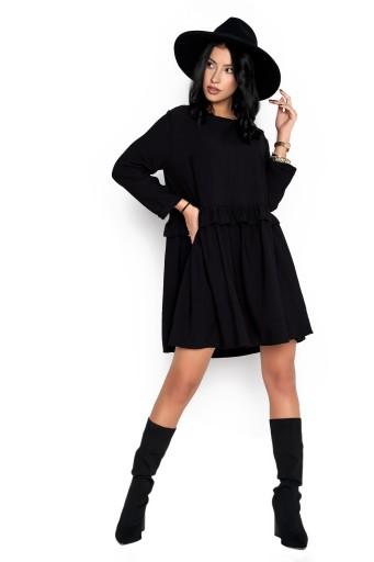Sukienka Sugarfree oversize czarna rozmiar L