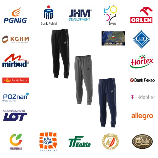 Spodnie dresowe ADIDAS CORE 18 size XXL 10415388730 Odzież Męska Spodnie VQ EQRKVQ-1
