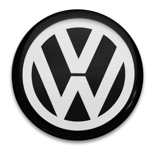 62mm Zamiennik Emblematy na kołpaki do VW