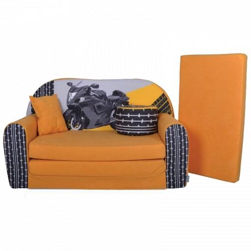Sofa Kanapa łóżko Dla Dzieci Rozkładana Motor