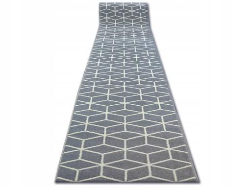 Dywany łuszczów Chodnik Base 120 Cube Q2544