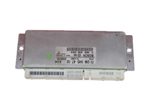 VALDIKLIS KOMPIUTERIS 0195454732 MB E-KLASE W210 2.2