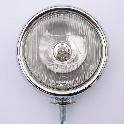 LAMPA PRZEDNIA LIGHTBARY PŁASKIE PŁYTKIE CHROM