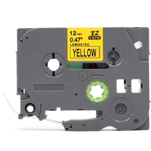 Taśma do Brother TZe-631 12mm 8m żółta TZ-631