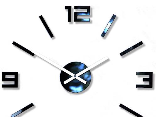 Zegar ścienny ModernClock - ARABIC ciekawy DIY 3D