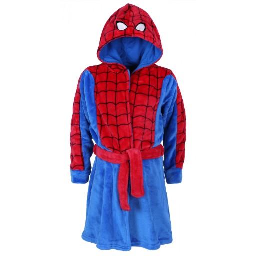 977f9fa8b7612f Niebieski szlafrok Spider-Man MARVEL 2-3 lat 98 cm 7459709292 ...