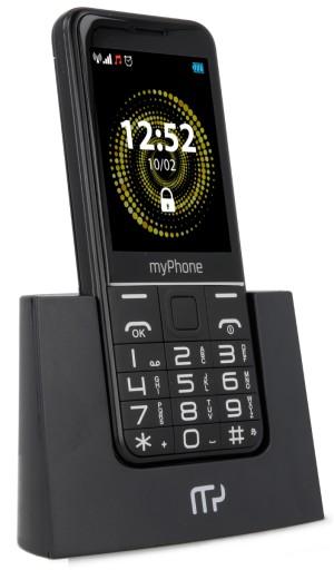 Myphone Halo Q Czarny Telefon Dla Seniora 7809953338 Sklep Internetowy Agd Rtv Telefony Laptopy Allegro Pl