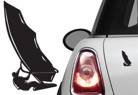 Naklejka na samochód / samochodowa windsurfer