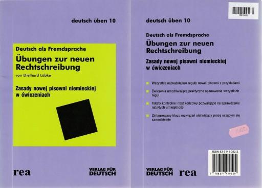 UBUNGEN ZUR NEUEN RECHTSCHREIBUNG - Diethard Lubke