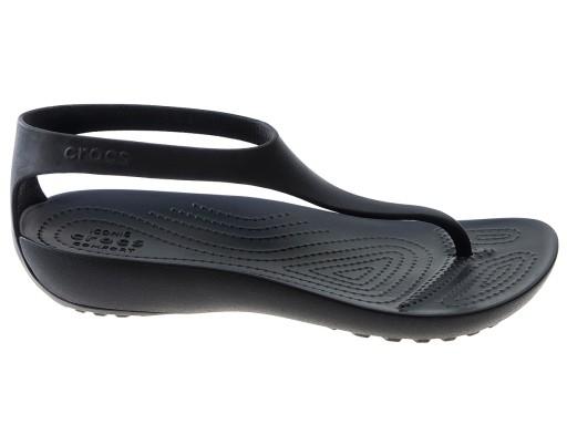 Crocs Serena Flip W japonki 205468 czarne 39/40