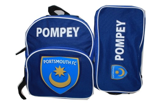 5b899d08d portsmouth fc plecak + torba na buty piłkarskie (6332854884 ...