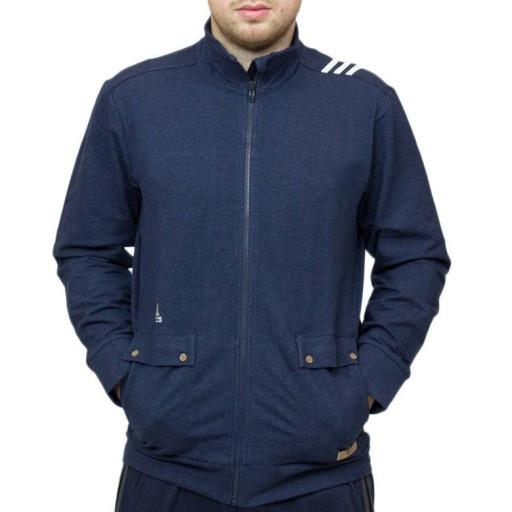 BLUZA MĘSKA ADIDAS REAL MADRYT MADRID STÓJKA M 10454377463 Bluzy Męskie Bluzy PF TJDAPF-6