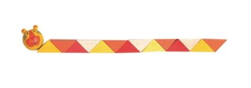 Zabawki dla dzieci Klocki kreatywne Twist drewno