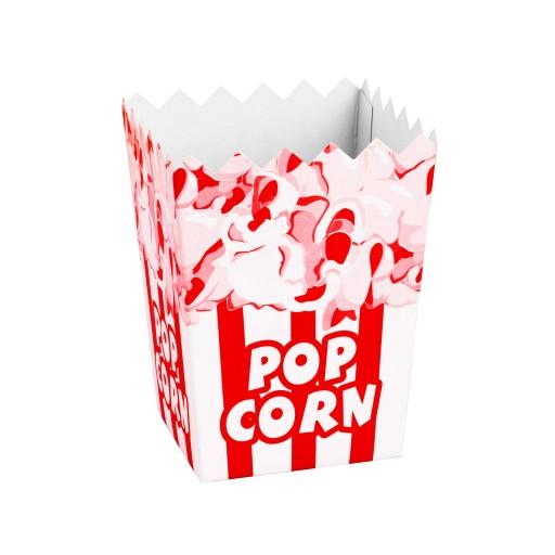 Pudełka Kartoniki do Popcornu Pudełko 0,5L 100 szt