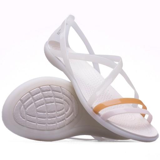 Crocs sandały damskie Isabella Strappy klapki