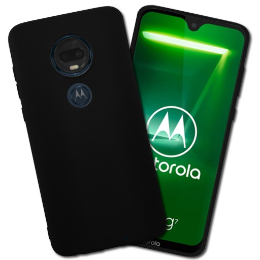 Czarne Full Matt Etui Do Motorola Moto G7 Plus 8202264407 Sklep Internetowy Agd Rtv Telefony Laptopy Allegro Pl