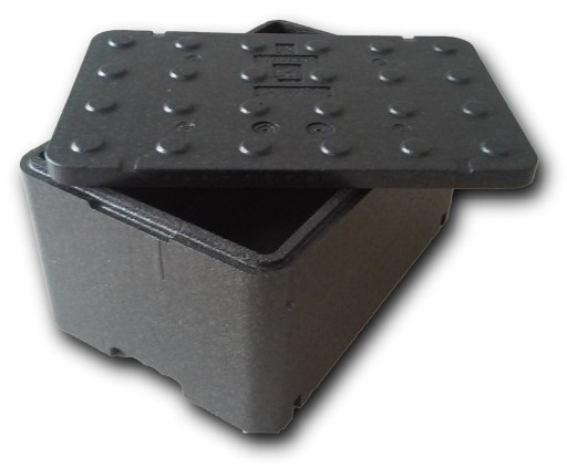 Czarne pudełko styropianowe  FB250 - Termobox 48L